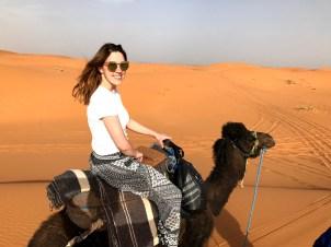 Passeio de camelo no deserto, Deserto do Saara