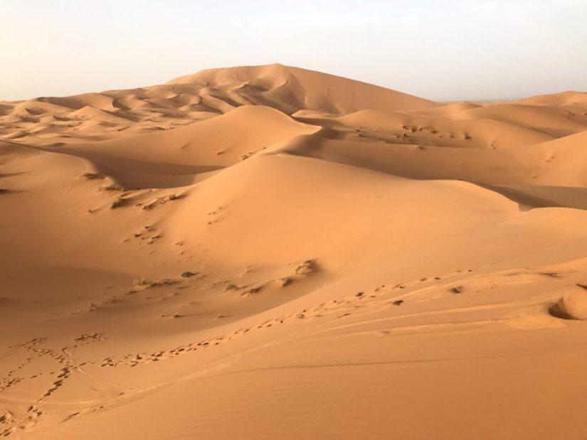 Erg Chebbi, Merzouga, Marrocos, dunas do deserto, deserto