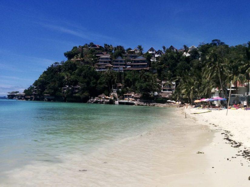 Praia Diniwid Beach em Boracay, nas Filipinas