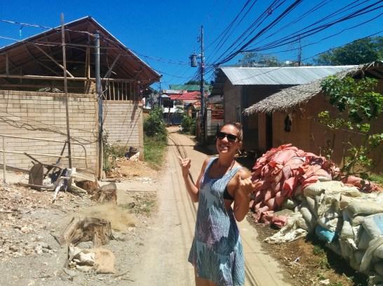 Bairro simples em Boracay