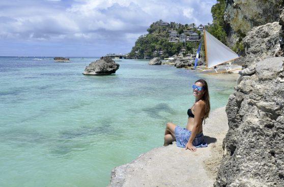 Diniwid Beach, praia de Boracay