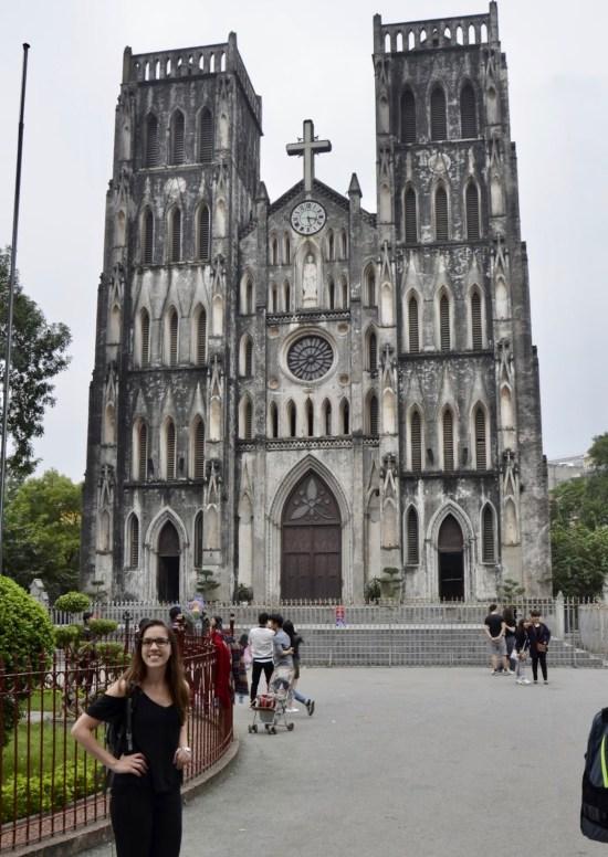 Catedral St Joseph em Hanoi, Vietnã