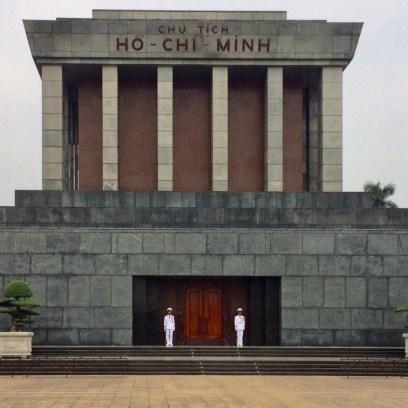 Mausoléu de Ho Chi Minh em Hanoi, Vietnã