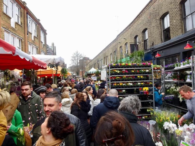 Columbia Road, o que fazer em Londres