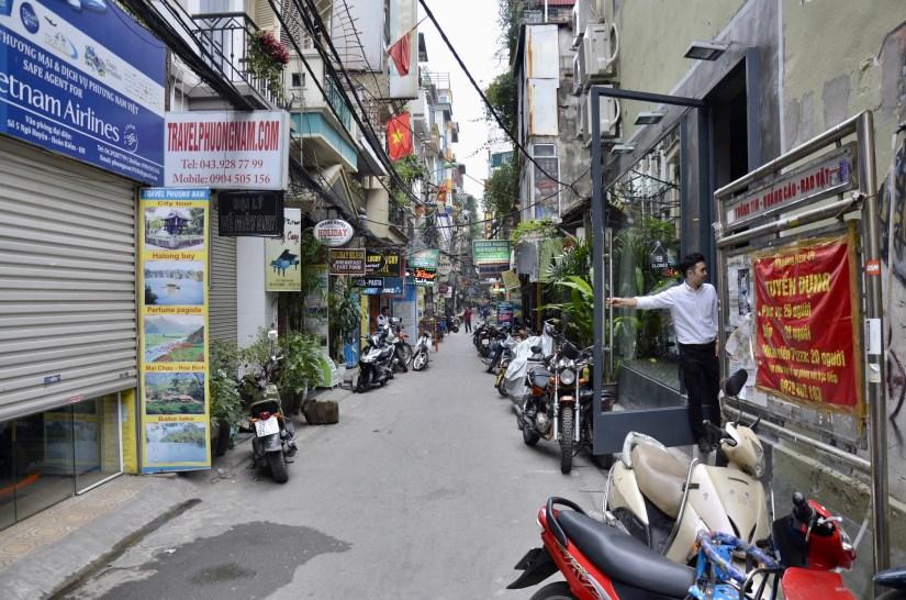 Bao Khanh Alley em Hanoi, no Vietnã.