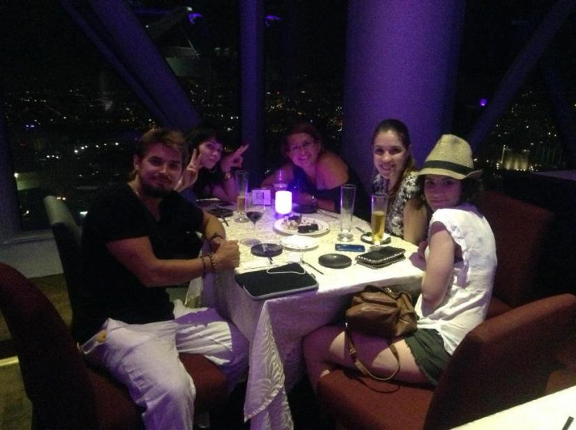 Restaurante Atmosphere 360 em Kuala Lumpur