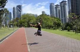 Parque KLCC em Kuala Lumpur
