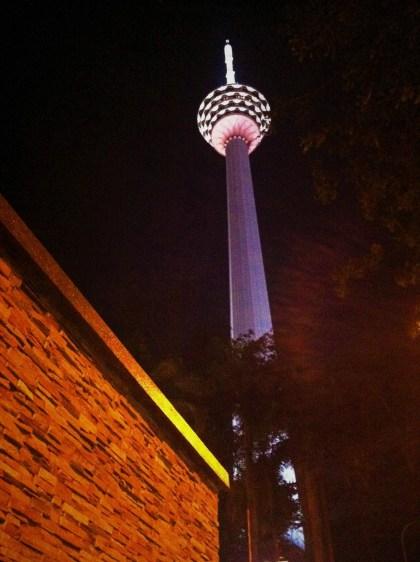 Torre KL em Kuala Lumpur