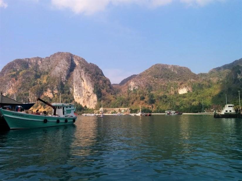 ilha de Koh Phi Phi na Tailândia