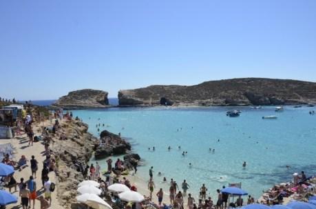 Praia da Blue Lagoon