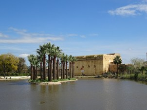 Jardim Jnan Sbil em Fez