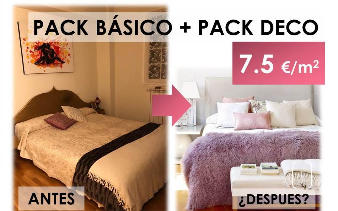 Pack Básico + Pack Deco. Cómo renovar una habitación sin cambiar mobiliario invirtiendo poco dinero