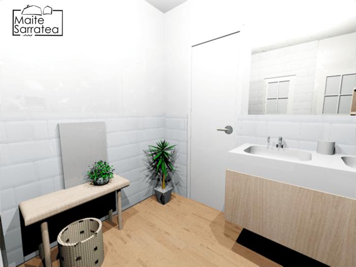 Cómo convertir 2 baños poco prácticos en 1 10