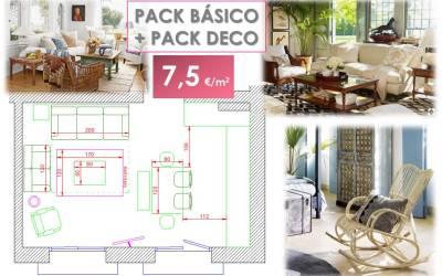Pack Básico + Pack Deco. Cómo decorar un apartamento turístico con estilo propio