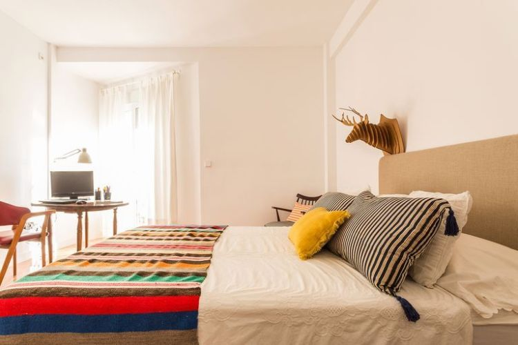 Un antiguo apartamento reformado de forma sencilla9