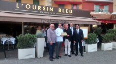 Jérôme DELONCLE,restaurant l'Oursin Bleu à Vilefranche-sur-Mer, rejoint les maîtres-restaurateurs des Alpes-Maritimes. Vendredi 25 juin2015, Jérôme DELONCLE a reçu la plaque de Maître-Restaurateur.