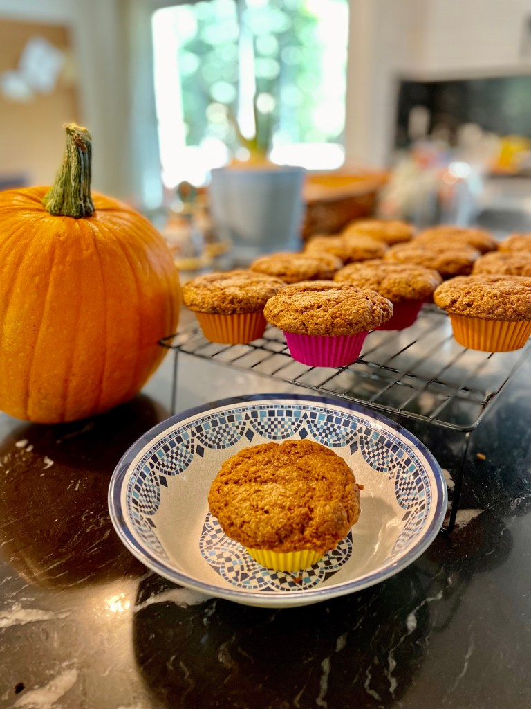 Maple Pumpkin Muffins (plant-based)