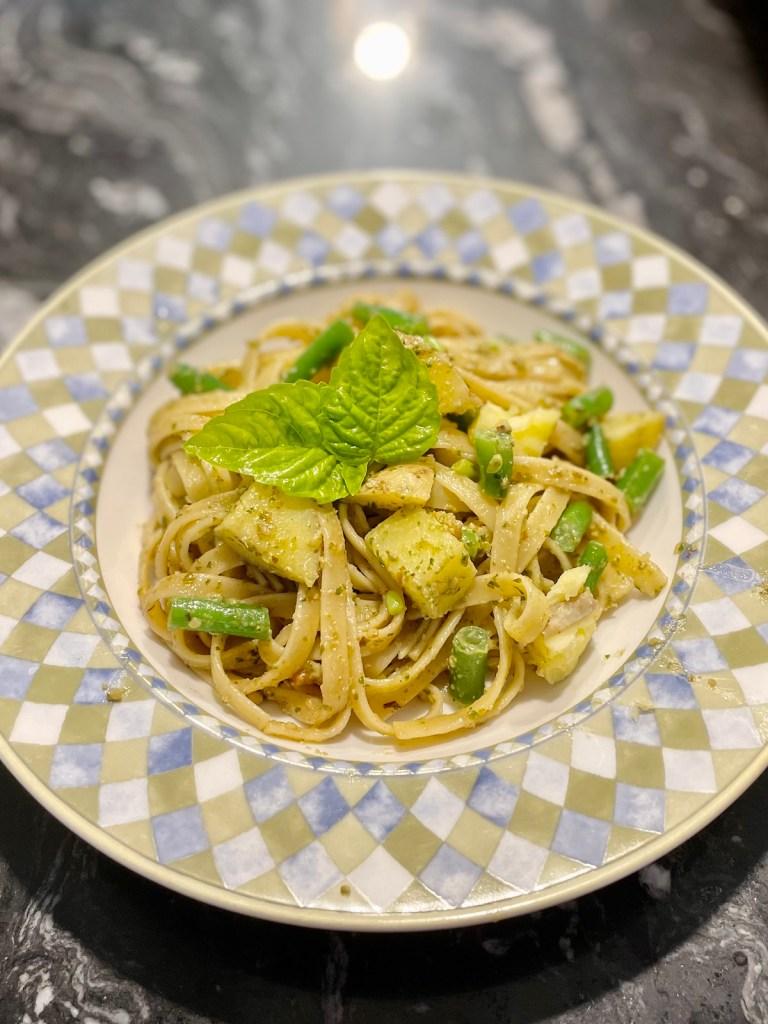 Trenette al Pesto from Luca (plant-based, gluten-free option)