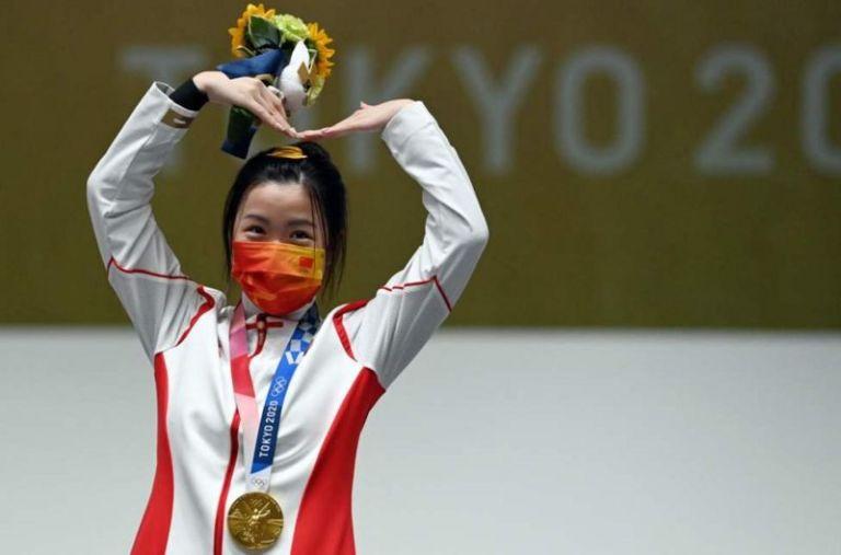 टोकियो ओलिम्पिक्समा पहिलो स्वर्ण चीनलाई