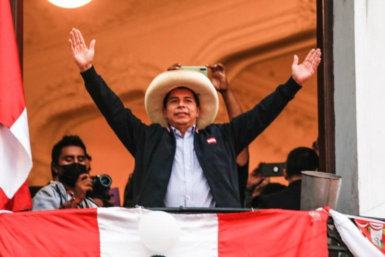 पेरुको राष्ट्रपतिमा पेद्रो कास्टियो निर्वाचित