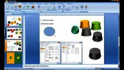 Powerpoint 2007 créer un bouton 3D V0