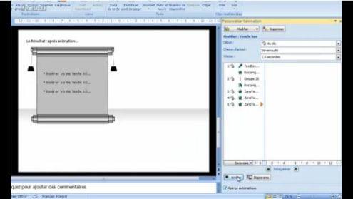 Powerpoint 2007 effet tableau V2