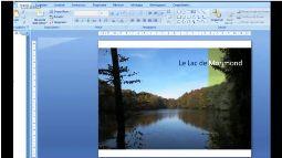 Powerpoint 2007 photographie élaborée V2