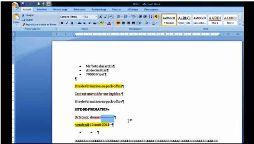 Word 2007 afficher masquer mise en forme