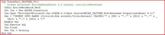 Excel 2007 : Comment réaliser un fichier récapitulatif avec fichier modèle dans Excel et VBA en moins de 15 min.