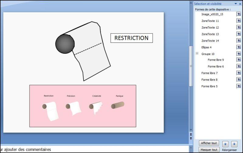 Comment créer un effet balayer sur un rouleau de PQ en moins de 10 min.