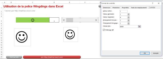 Comment utilisez la police Wingdings sur Excel pour faire un indicateur sur Excel 2013 en moins de 4 min. EXCEL_2013_UTILISATION DE LA POLICE WINGDINGS