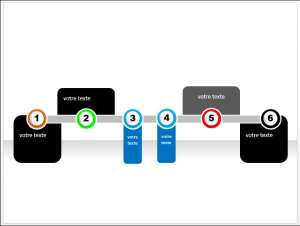 POWERPOINT_2013_EX_TIMELINE Powerpoint 2013 : Comment faire un effet Timeline sur Powerpoint en moins de 5 min.