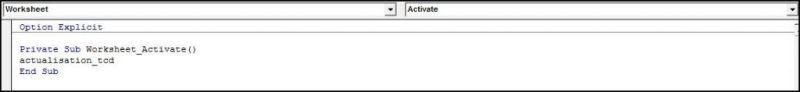 Excel 2010 : Comment actualiser un TCD avec plage dynamique sur Excel en VBA en moins de 5 min.EXCEL_2010_VBA_ACTUALISATION_TCD_MACRO