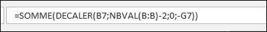 Excel 2013 : Comment faire la somme sur les N derniers mois selectionné via Excel en moins de 5 min.
