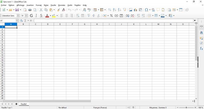 LibreOffice : Comment installer et débuter sur une suite Office gratuite en moins de 8 min.  CALC