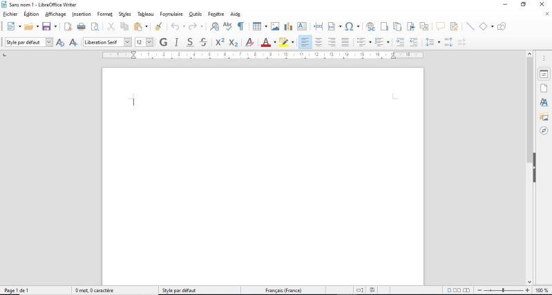 LibreOffice : Comment installer et débuter sur une suite Office gratuite en moins de 8 min.  WRITER
