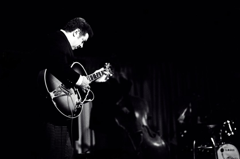 Kenny Burrell - photo de Tom Marcello