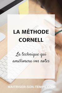 Méthode Cornell : la technique qui améliorera vos notes