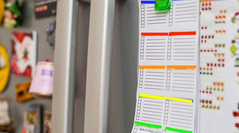 Planning pour la maison: comment le réaliser et l'appliquer?