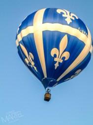 Montgolfière(s) en vol, festival des montgolfières, St-Jean-sur-Richelieu, Qc