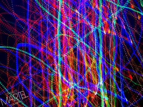 Arbre de Noël 2014, série d'images avec effets tels mouvements, etc.