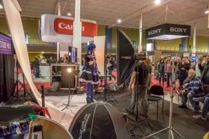 atelier de studio, vue générale, Salon de la photo. Laval, Qc