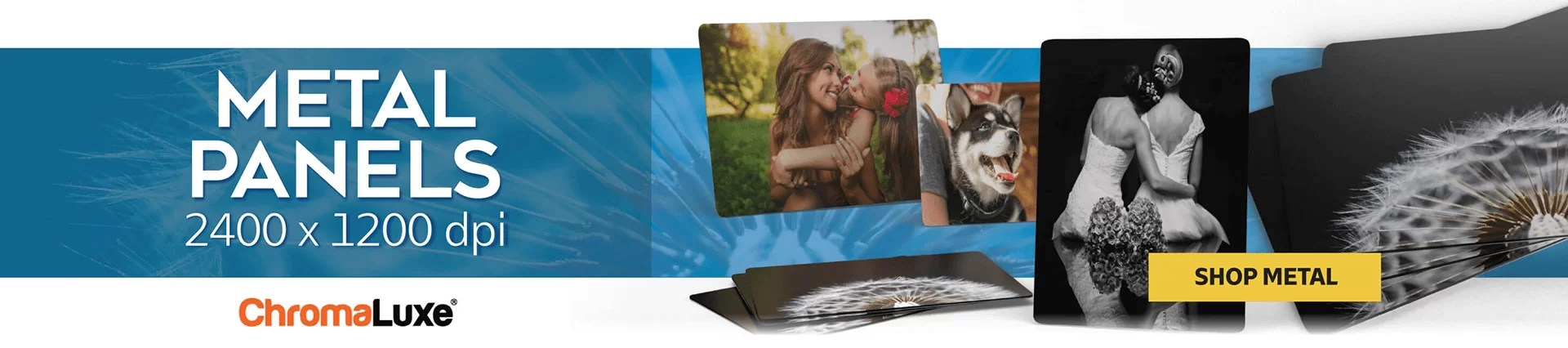 custom printing metal photo panels