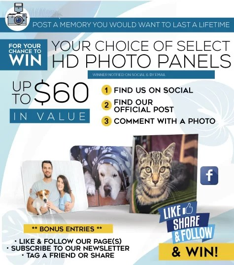 Win Free HD Photo Panels from Maize Ink