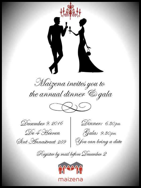 The Activity Party Committee Is Proud To Present Maizena S Annual Dinner And Gala On Friday December 9th At 6 30 Pm We Will Get Together Enjoy A