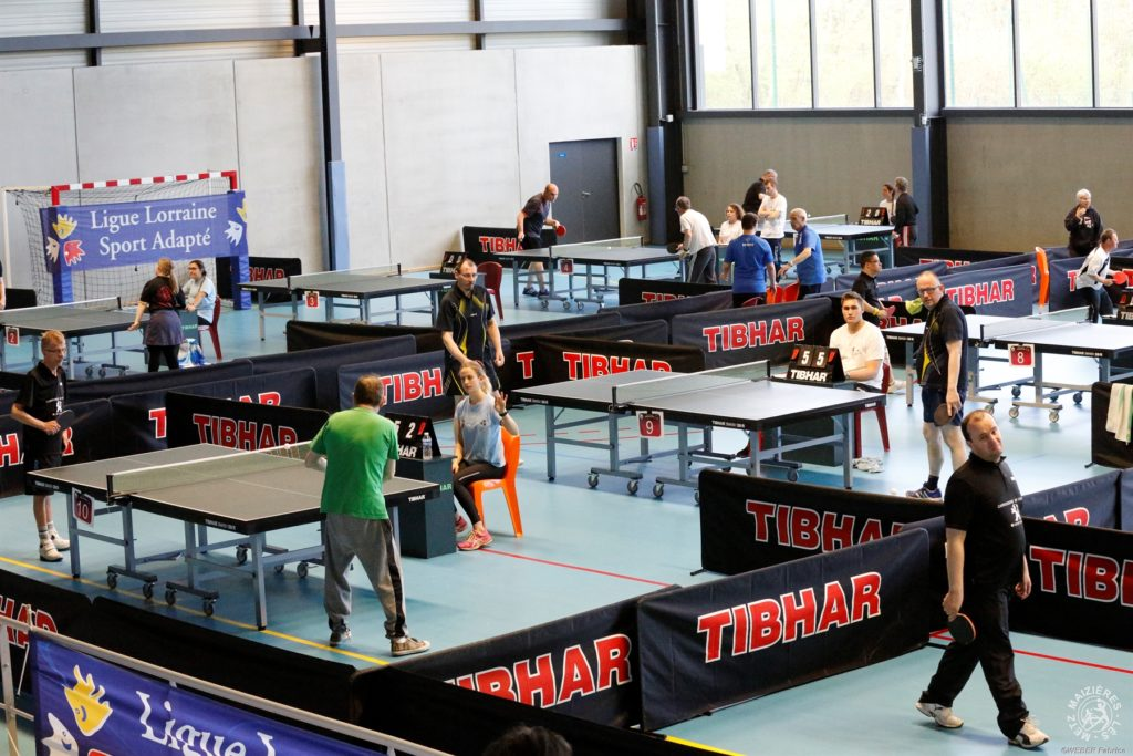 Section handisport et sport adapt archives le tennis de table de maizi res l s metz - Ligue lorraine tennis de table ...
