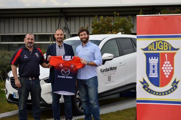 Rugby: Mazariegos y Lucas Paulos junto a la cara más solidaria del CR Majadahonda