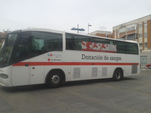 Cruz Roja Majadahonda busca donantes de sangre en Semana Santa