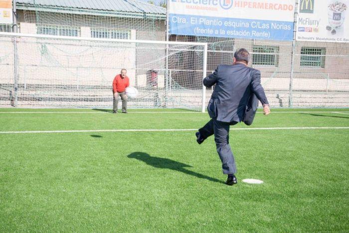 """Foxá (y III): """"Vamos a construir más campos de fútbol en Majadahonda para jugar por libre"""""""