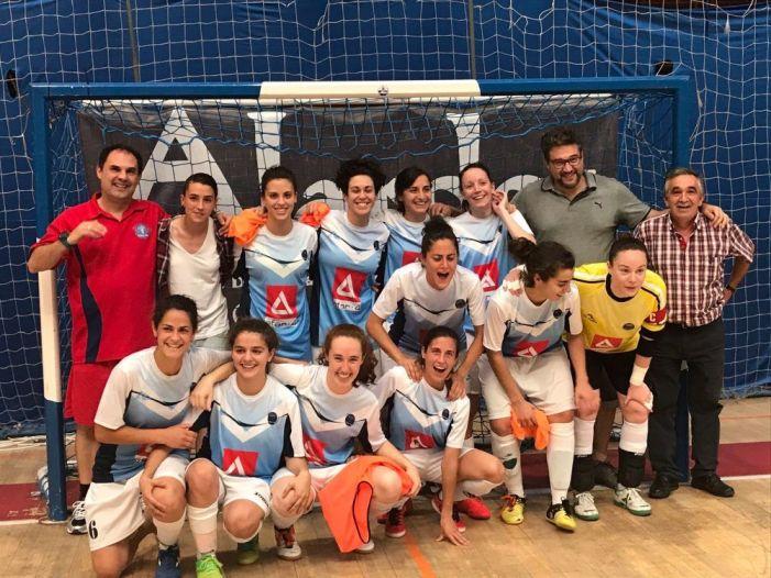 """Fútbol sala femenino: Majadahonda se enfrenta al """"coco"""" At. Madrid en la Copa de la Reina"""